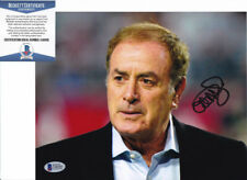 Al Michaels NBC Sports Signed Autograph 8x10 Photo Beckett BAS COA #1