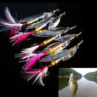 8g Fishing Lure Spoon Bait ideal for Bass Trout Perch pike rotating Fishing LJLJ