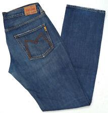 Meltin' Pot Damen Jeans Hose Stone Washed Straight 30/34 W30 L34 used Blau  B287