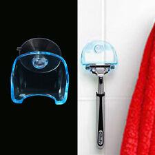 Plastic Sucked Suction Cup Razor Shaver Holder Hanger Rack Bathroom Tool New