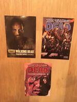 3 Walking Dead Promo Cards Cryptozoic