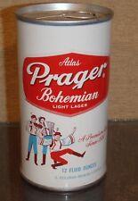 *Minty1971 Atlas Prager Bohemian Tab Top Beer Can Heileman 5 City Bottom Opened