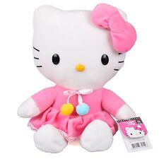 30Cm Sanrio Hello Kitty Rosa Rock Plüschtiere Kuscheltier Plüsch Stofftier Puppe