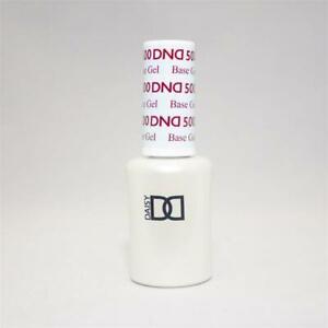 DND UV/LED Cure Soak off Gel - Base Coat #500 0.5 oz