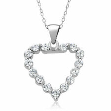 Cubic Zirconia Sterling Silver Unisex Jewellery