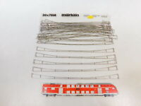 CD799-0,5# 30x Märklin H0 7018 Fahrdrahtstück für Oberleitung/Fahrleitung, s.g.