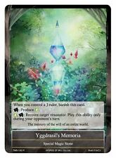 1x 1 x Yggdrasil's Memoria - TMS-100 - R - M/NM Force of Will FOW