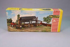 aiguillage fait un nœud Faller 190285 Kit h0 güterumschlagset grue