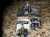 Grand Theft Auto IV (PC/DVD, 2008) with case and pictured inserts