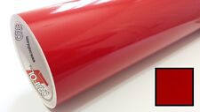 """Red Transparent Vinyl for Taillights 24"""" JDM Overlay Sheet Roll Film Tint"""