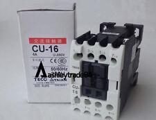 New TECO CU-16 4A 220VAC Contactor