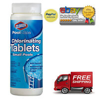 Clorox Pool & Spa 60001CLX Small Pool 1-Inch Chlorinating Floater Tablets