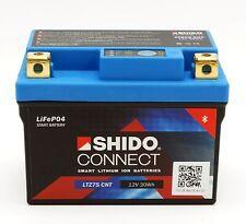Shido LTZ7S CNT Lithium Ionen Connect Batterie 12V LiFePO YTZ7S, YTZ6V Motorrad