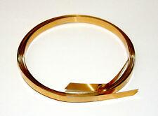 26 Gauge Brass Flat Bezel Wire 3/16 Inch Wide 10 Foot Package