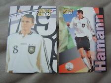 WM 98 Card-s Karte DFB Deutsche Fussball Nationalmannschaft DIETMAR HAMMANN 2