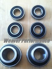 "Go Kart uk-206 1 1/4 Premium Axle Bearing with 5/8"" Front Wheel Hub Bearings"