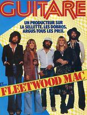 Guitare Magazine #23 -FLEETWOOD MAC- Dobros, Tal Farlow, Jean Georgakarakos,...