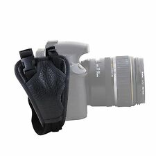 PU Leather Padded Hand Grip Wrist Strap for Camera Canon EOS Nikon SLR DSLR HS02