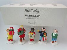 Dept 56 Christmas kids