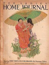 1925 Ladies Home Journal April - Zane Grey; Mormon; Norman Rockwell; Coca Cola