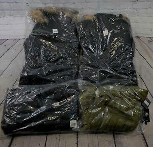 Lot of 4 New/NWT Assorted Brands Men's/Women's Coats in Various Styles -BBJ1556