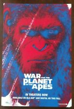 *NEW* SDCC Comic Con 2017 Fox War for Planet of the Apes 11x17 Promo Poster