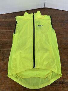 Louis Garneau Womens Nova 2 Cycling Vest Bright Yellow Medium Large Jersey