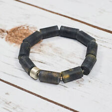 "Amber Beaded Natural 7.5 - 7.99"" Fine Gemstone Bracelets"