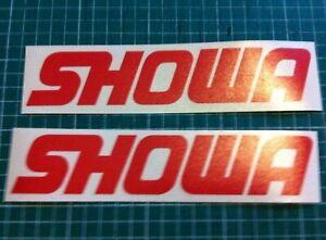 Showa 150mm Fork Stickers  MX KX CR RM YZ  85 125 250 450 MOTOCROSS