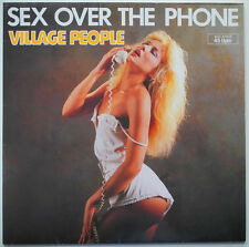 "12"" DE**VILLAGE PEOPLE - SEX OVER THE PHONE (METRONOME '85)***8502"