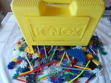 K'nex koffer gelb mit 500 teile konvolut + motor !