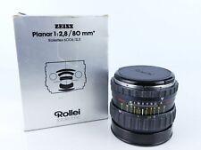 ROLLEI ROLLEIFLEX ZEISS PLANAR 80MM F2.8 PQ HFT PRIME LENS SLX 6006 6008 603 ETC