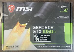MSI GeForce GTX 1050 Ti 4GB (GTX 1050 TI 4GT LP) Graphic Card Brand New IN HAND