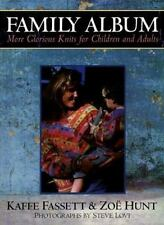 BOOK: FAMILY ALBUM, More Glorious Knits for Children & Adults, Kaffe Fassett