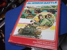 Vintage INTELLIVISION ARMOR BATTLE Video Game Cartridge NEW LAST ONE ORIG PKG