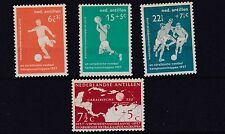NETHERLANDS  ANTILLES 1957  CARIBBEAN FOOTBALL MNH