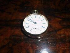 Taschenuhr (5) Illinois Watch Co  vergoldet ? vor 1945 Weitere eingestellt !