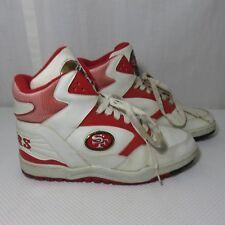 Vintage Size 11 San Francisco 49ers NFL Sneakers Hi Tops Eastport Starter