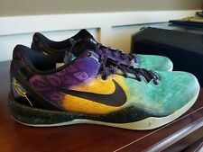 buy popular a5a3b 02160 New ListingNike Kobe 8 System Easter - Green Black Yellow - 555035-302 -  Men s Size 14
