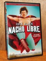 Nacho Libre (DVD, 2018) NEW Jack Black mexican wrestling earns money for church
