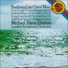 Beethoven: Late Choral Music (CD, Sep-1988, CBS Records) (cd9310)