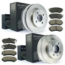 Discos de Freno Pastillas Delantero Trasero Para Nissan Almera I N15 Con ABS Bj