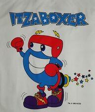 Vintage 90s 1996 Atlanta Olympics Boxing T Shirt XL Mascot IZZY USA DEADSTOCK