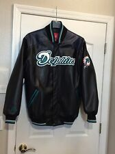 Miami Dolphins NFL Football Varsity Style Jacket. G-III Apparel. Large. NEW.