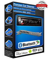 FORD C-MAX deh-3900bt radio de coche, USB CD MP3 ENTRADA AUXILIAR Bluetooth Kit