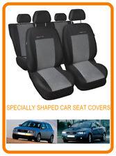 Cubiertas de asiento de coche para Audi A4 B6 2000 - 2004 Fundas de los asientos a medida Set Completo (201P2)