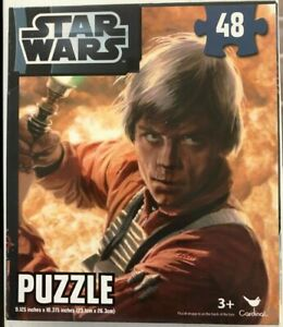 Cardinal Star Wars Luke Skywalker Puzzle (48 pieces)
