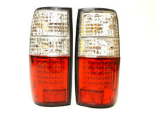 Toyota Land Cruiser HDJ 80 Rear Tail Signal Lights Lamp Set Left Right Led white