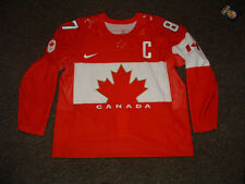 SIDNEY CROSBY #87 TEAM CANADA 2014 SOCCHI RED AUTHENTIC HOCKEY JERSEY sz 56 NEW