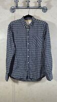 Rag & Bone Tailored WorkWear Button Down Shirt Gray Plaid Men's Size M